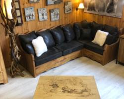 Canapé d'angle interchangeable