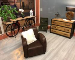 Canapé fixe/fauteuil