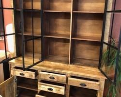 Collection buffet : vaisselier bois